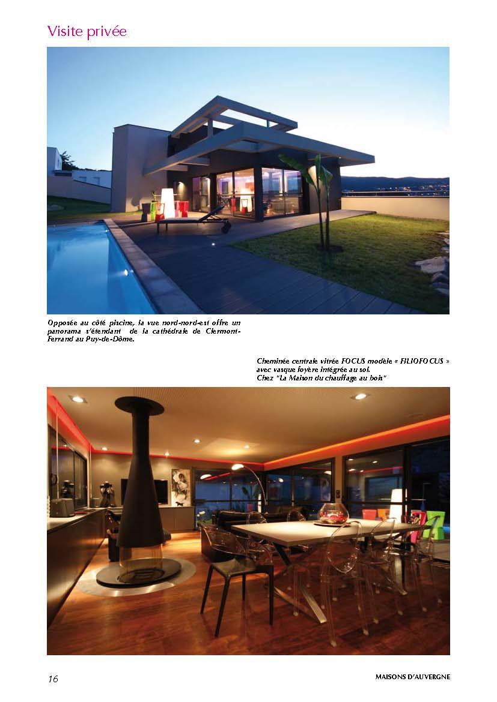 maisons d 39 auvergne visite priv e n 3 herv porte. Black Bedroom Furniture Sets. Home Design Ideas